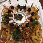 Shrimp Cocktail and Calamari Tempura