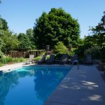 Pool at Chanticleer Guest House