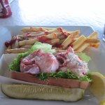 Lobster Roll Dinner $ 21.99