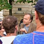 Christopher Spence brings knowledge & passion to a tour of Paris sites linked to WW2.