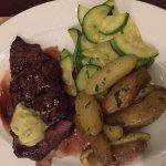 Flat Iron Steak Entree