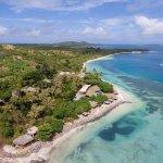 Another Ariel Shot of Nanuya Island Resort
