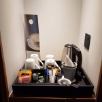 In room refreshments