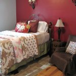 Nana's, a first floor guest room, is cozy and lite.