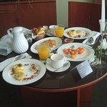 El desayuno... deli y primoroso