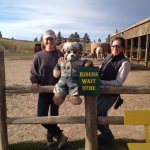 The Bear made new friends with our guide and the owner.
