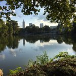 Visiting nearby Piedmont Park