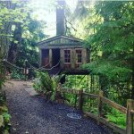 Our Treehouse that we stayed in!