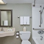 ADA/Handicapped accessible Guest Bathroom with mobility tub