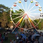 Ferris Wheel in main area for Wanee, Large festival grounds