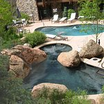 Hottub And Pool From