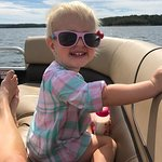 My daughter LOVED the brand new and affordable pontoon boat. We also enjoyed sitting outside by