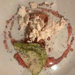 Rhubarb Parfait.