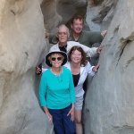 A day in the slot canyons celebrating my dad's birthday.