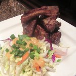 Ribs and Cole Slaw, BJ's Restaurant & Brewhouse, Fremont, CA