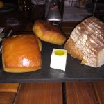 yummy bread with soft butter