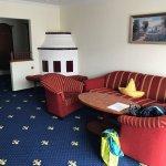 Wohnzimmer der Comfort Suite
