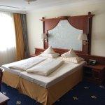 Schlafzimmer der Comfort Suite
