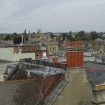 View from the top of the Carfax Tower