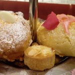 Scones: Cranberry and White Chocolate and Rose Petal