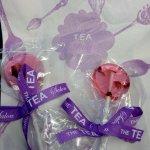 Rose Petal Lollipops