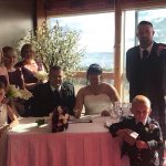 Our perfect wedding at the perfect place xx