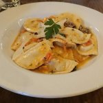Very nice Goat Cheese Ravioli