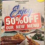 The non existent new menu