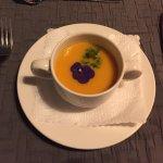 Potage carottes, oranges et gingembre