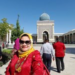 Cantiknya Mausoleum Imam AL Bukhari, Samarkand