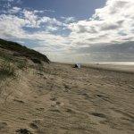 La plage d'Hardelot-Plage à 15 minutes de l'hôtel.