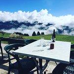 Dejeuner face au Mont Blanc ♥️