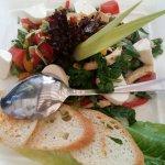 Шпинатный салат