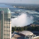 View of Canadian Falls from room