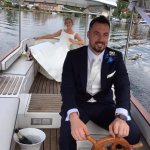 The boat can be used for wedding parties to get away