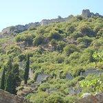 le site moyennageux de Mystras