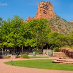 Every unit at Red Agave Resort features the same incredible views of Bell Rock and Courthouse Bu