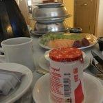 Room Service- Breakfast was great!