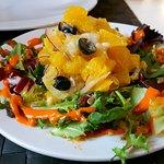 ceviche cod salad