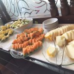 Just some of the sumptuous breakfast food that awaits guests, every morning!