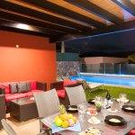 Terrace and Pool Area - PAR4 Villa 20 - Salobre Golf Resort - Villa in Gran Canaria - Specialodg