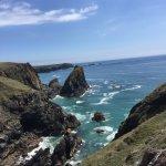 Path down to Kynance Cove