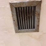 Bathroom vent, also not in working condition and dirty
