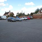 The Brantham Bull car park