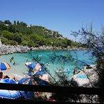 Mitsos Taverna Corfu August 2017 - view