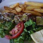 Mitsos Taverna Corfu August 2017 - pork - delicious