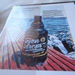 Mitsos Taverna Corfu August 2017 - menu