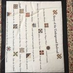 Translation of quilt mappings used as part of the Underground Railroad System