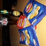 Beer and Crisps at The Dove Inn Ipswich!!
