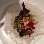 Beautifully presented salad (wish I had taken a better photo!)